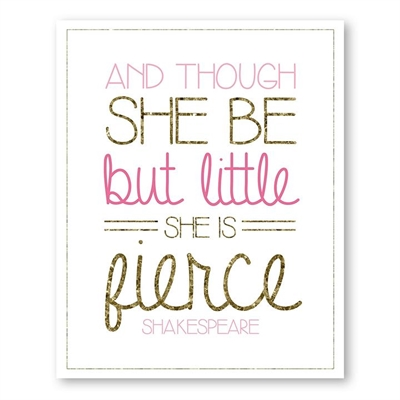 Girls Gold & Glitter 3 Print Art by Americanflat, a Kids Prints & Wall Decor for sale on Style Sourcebook