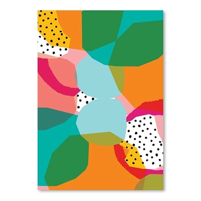 Geometric Shapes Print Art by Americanflat, a Kids Prints & Wall Decor for sale on Style Sourcebook