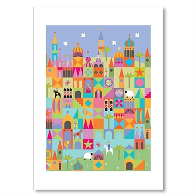 Toytown Print Art by Americanflat, a Kids Prints & Wall Decor for sale on Style Sourcebook