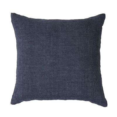 Home Republic Malmo Linen Cushion 50x50cm Denim By Adairs by Home Republic, a Cushions, Decorative Pillows for sale on Style Sourcebook