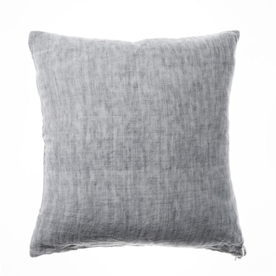 Home Republic Malmo Linen Cushion 50x50cm Grey By Adairs by Home Republic, a Cushions, Decorative Pillows for sale on Style Sourcebook
