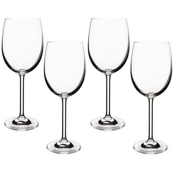 Linear L Red Wine Glass Size W 7cm x D 7cm x H 22cm in Clear Crystalline Freedom by Freedom, a Barware for sale on Style Sourcebook