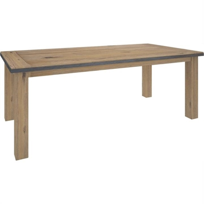 Hamburg Acacia Timber 210cm Dining Table by Dodicci, a Dining Tables for sale on Style Sourcebook