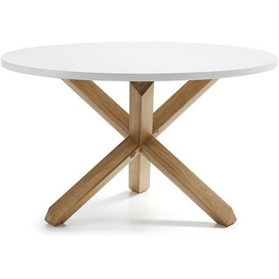 Tompion Wooden Round Dining Table, 120cm by El Diseno, a Dining Tables for sale on Style Sourcebook