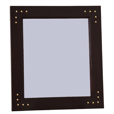 Labobo Solid Mahogany Timber Frame 120cm Wall Mirror - Chocolate by Centrum Furniture, a Mirrors for sale on Style Sourcebook