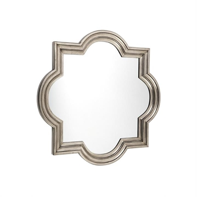 Marrakech 90cm Wall Mirror - Antique Silver by Cozy Lighting & Living, a Mirrors for sale on Style Sourcebook