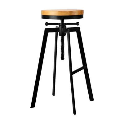 Powis Adjustable Bar Stool by Resort Living, a Bar Stools for sale on Style Sourcebook