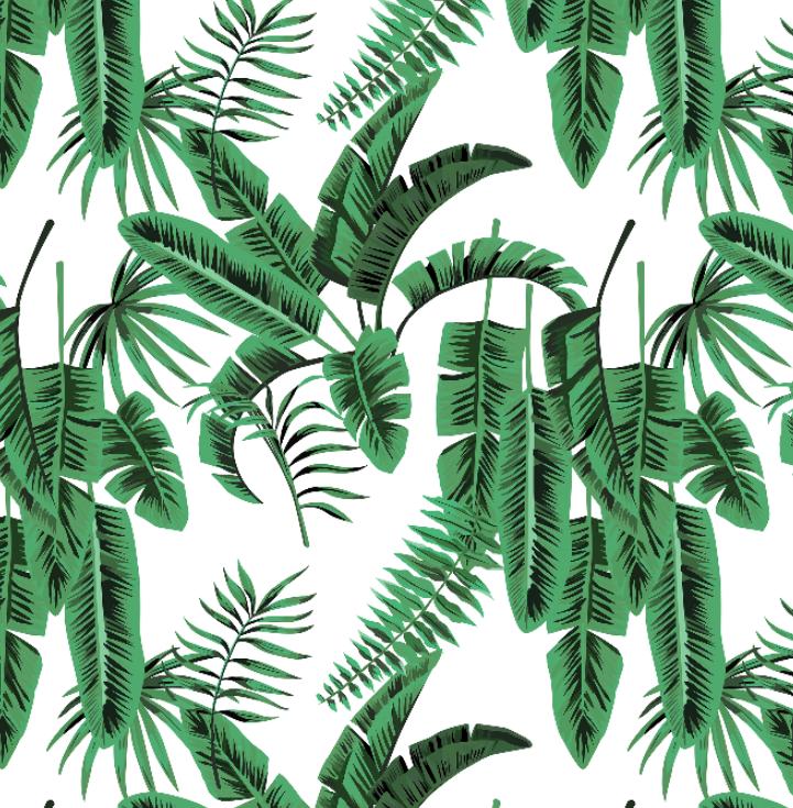 Banana Palms Wallpaper by Grace Garrett, a Wallpaper for sale on Style Sourcebook