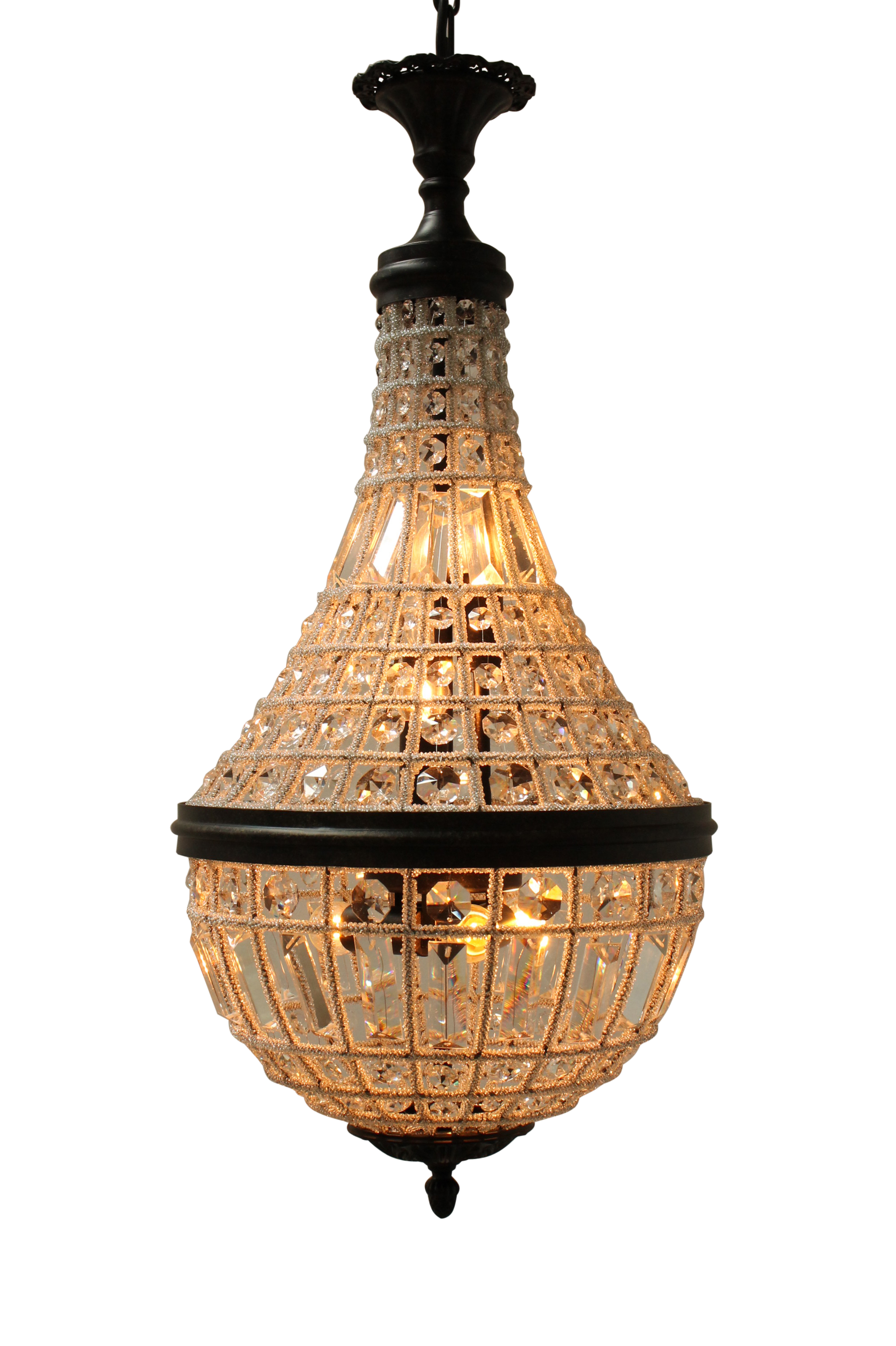 Emporium Crystal Pendant by Fat Shack Vintage, a Chandeliers for sale on Style Sourcebook