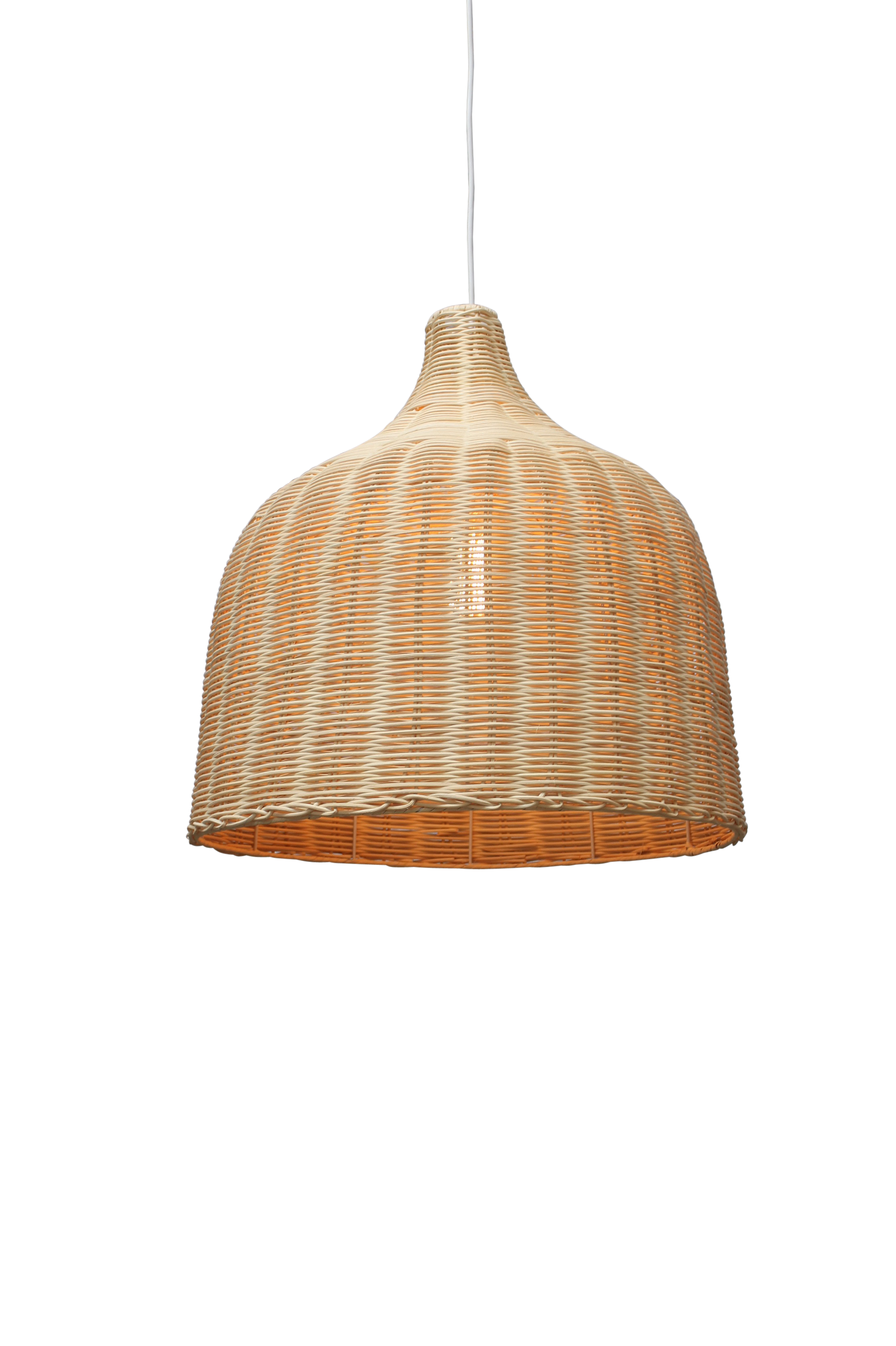 Wicker Ceiling Light - Rattan by Fat Shack Vintage, a Pendant Lighting for sale on Style Sourcebook