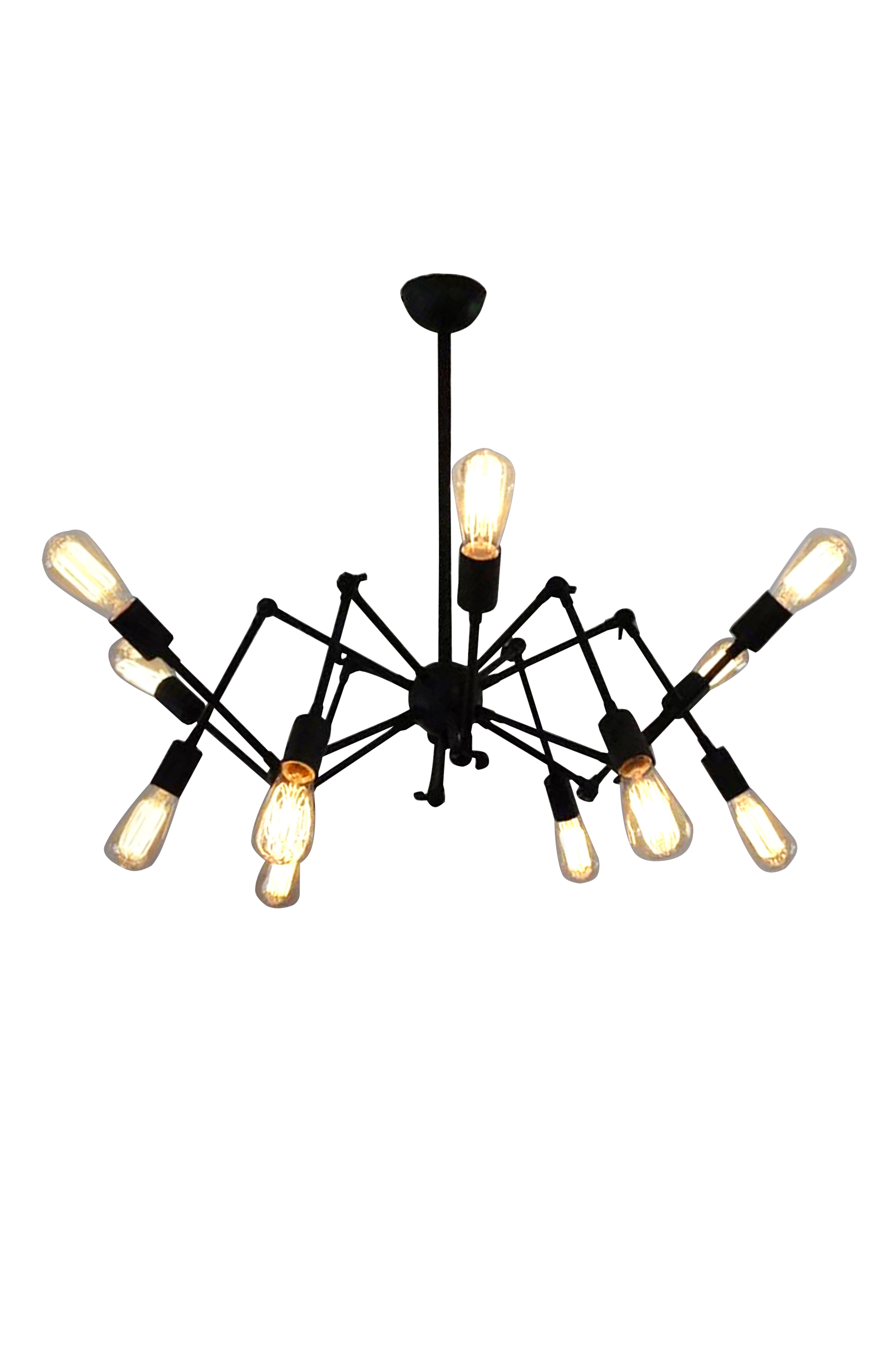 Bare Bulb Spider Chandelier by Fat Shack Vintage, a Chandeliers for sale on Style Sourcebook