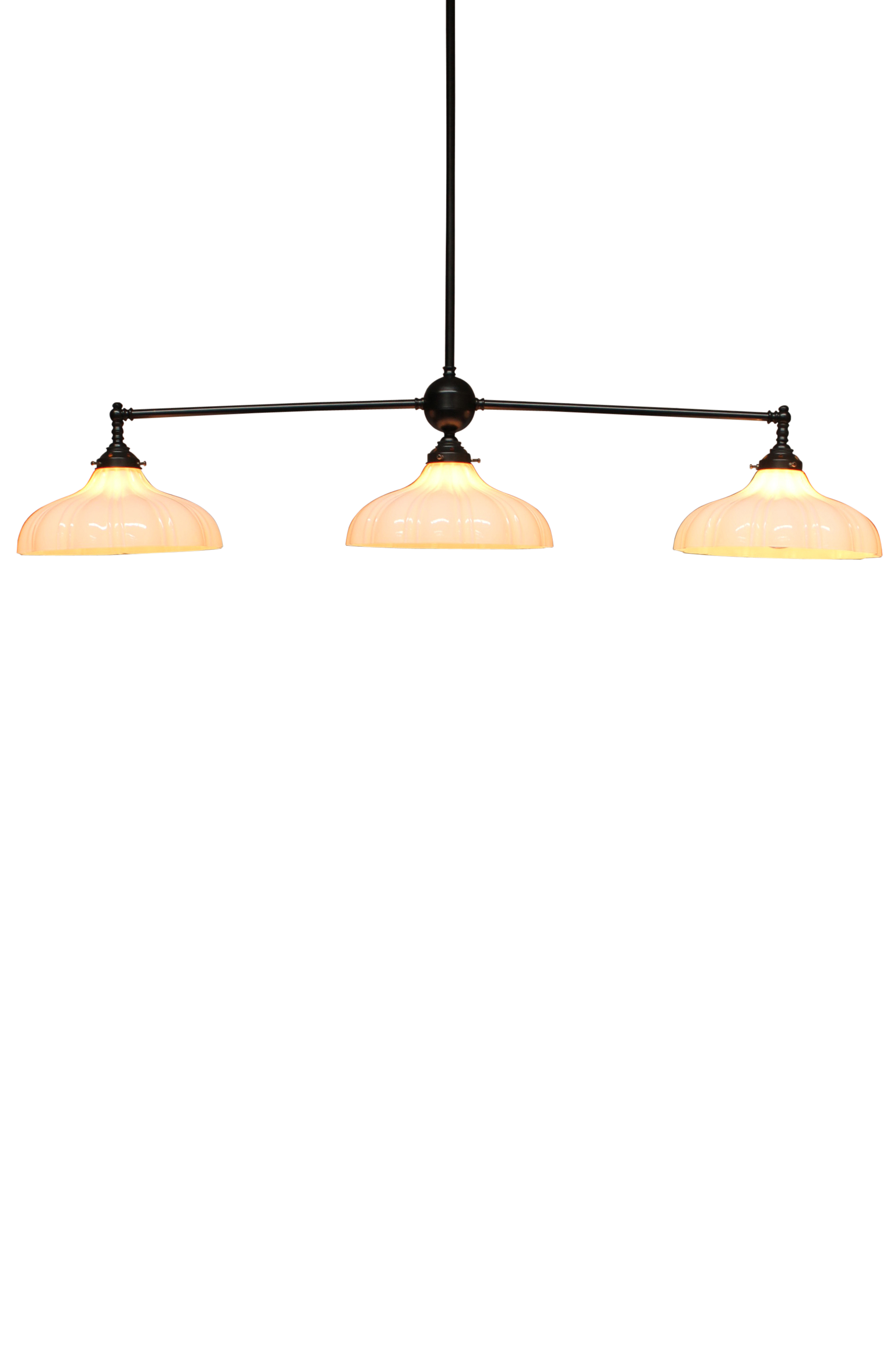 3 Light Glass Pendant - Mayflower by Fat Shack Vintage, a Chandeliers for sale on Style Sourcebook