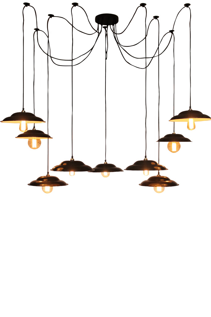 Barn Pendant Chandelier by Fat Shack Vintage, a Chandeliers for sale on Style Sourcebook