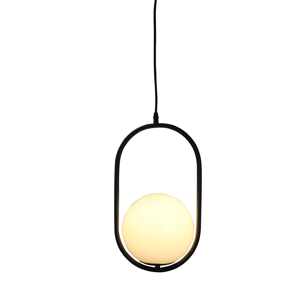 Bonnie Glass Ball Pendant Light by Fat Shack Vintage, a Chandeliers for sale on Style Sourcebook