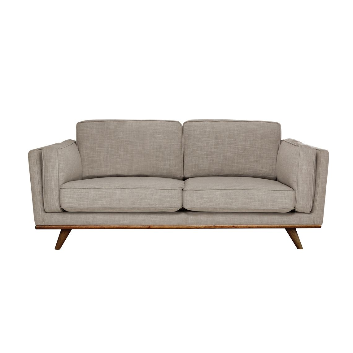 Dahlia 2 Seat Fabric Sofa Size W 166cm x D 93cm x H 82cm in Shell 90% Polyester/10% Linen/Woven Freedom by Freedom, a Sofas for sale on Style Sourcebook