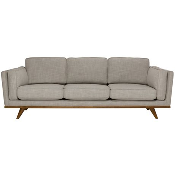 Dahlia 3 Seat Fabric Sofa Size W 229cm x D 93cm x H 82cm in Shell 90% Polyester/10% Linen/Woven Freedom by Freedom, a Sofas for sale on Style Sourcebook