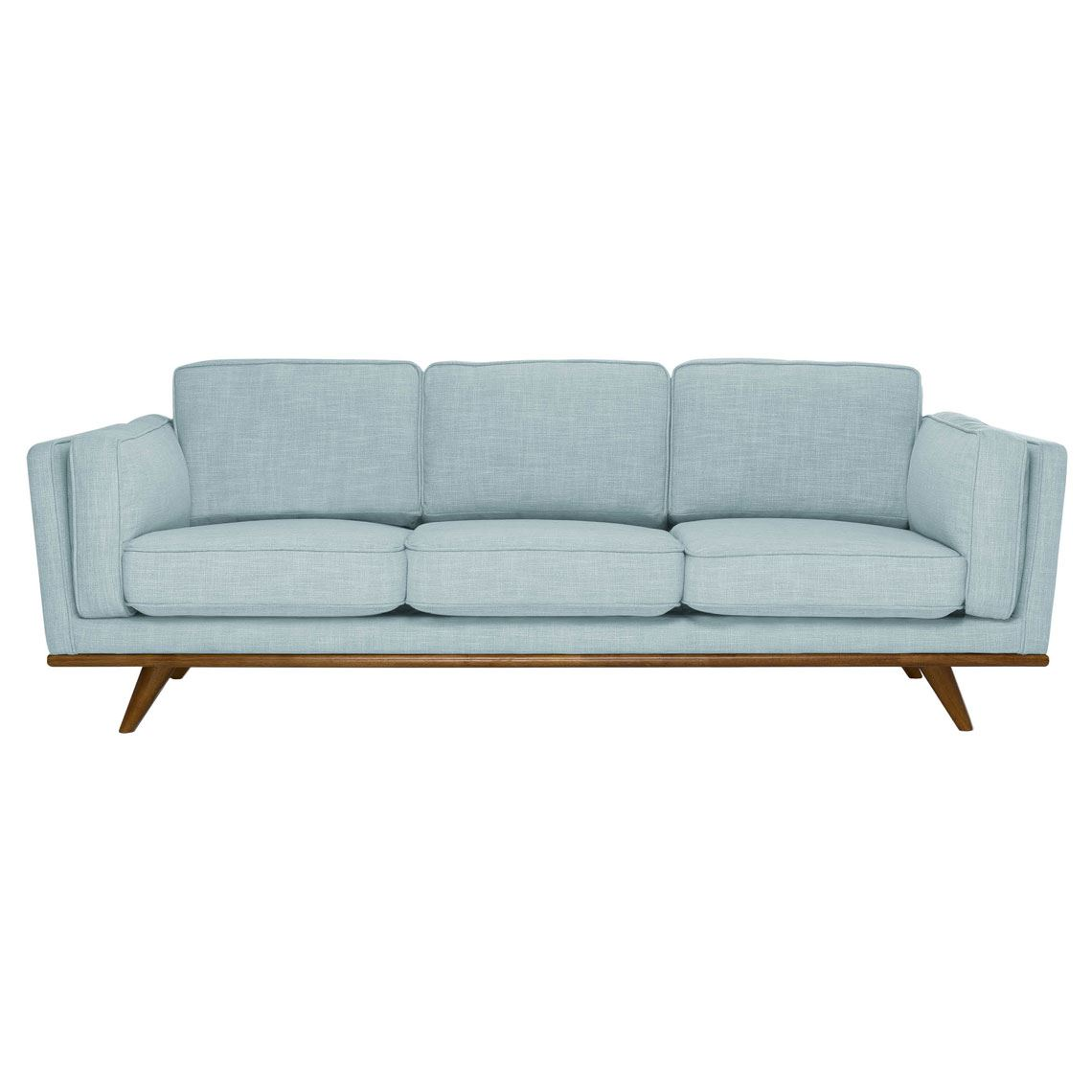 Dahlia 3 Seat Fabric Sofa Size W 229cm x D 93cm x H 82cm in Skyline 90% Polyester/10% Linen/Woven Freedom by Freedom, a Sofas for sale on Style Sourcebook