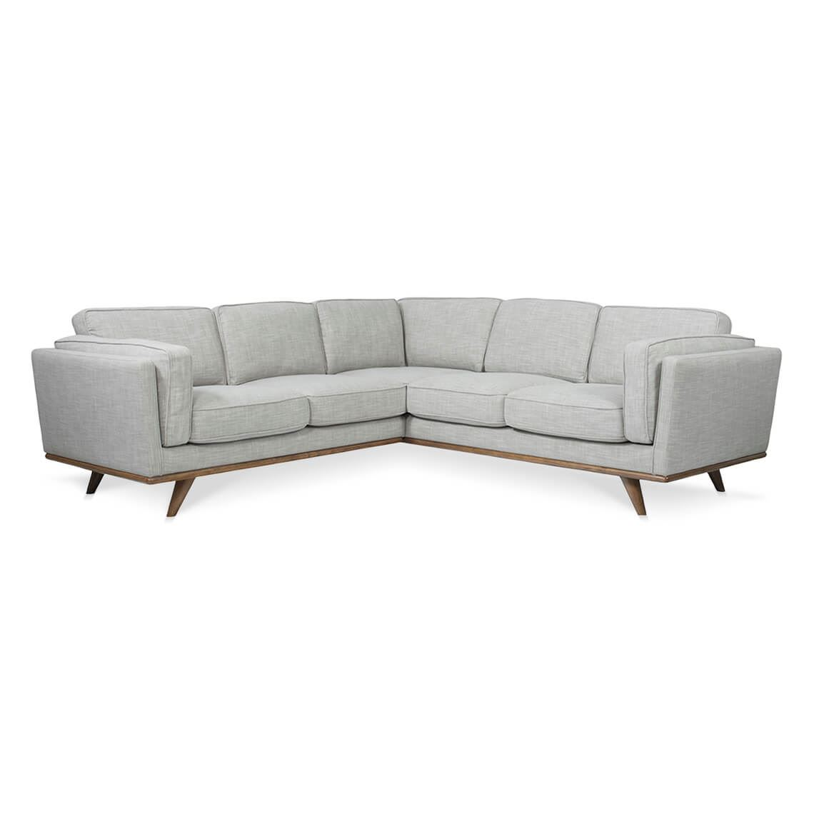 Dahlia 5 Seat Fabric Corner Modular Sofa Size W 243cm x D 237cm x H 82cm in Shell 90% Polyester/10% Linen/Woven Freedom by Freedom, a Sofas for sale on Style Sourcebook