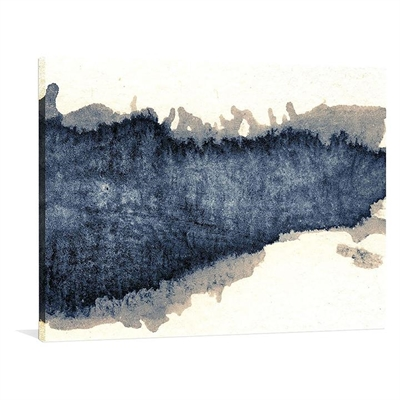 Granulated Blue Canvas Print by United Interiors, a Prints for sale on Style Sourcebook