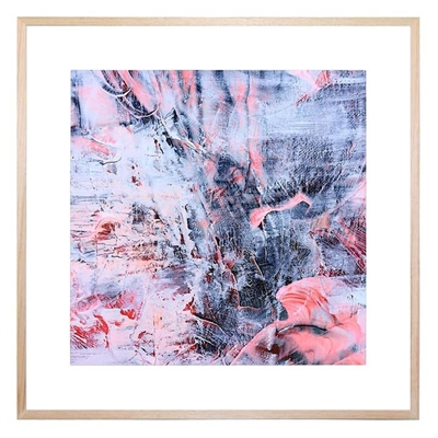 Brocade Square Framed Print by United Interiors, a Prints for sale on Style Sourcebook