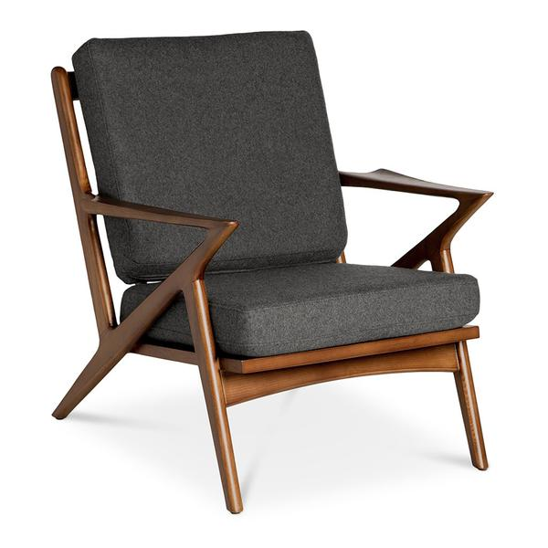 SELIG Z CHAIR REPLICA - CHARCOAL by The Design Edit, a Chairs for sale on Style Sourcebook