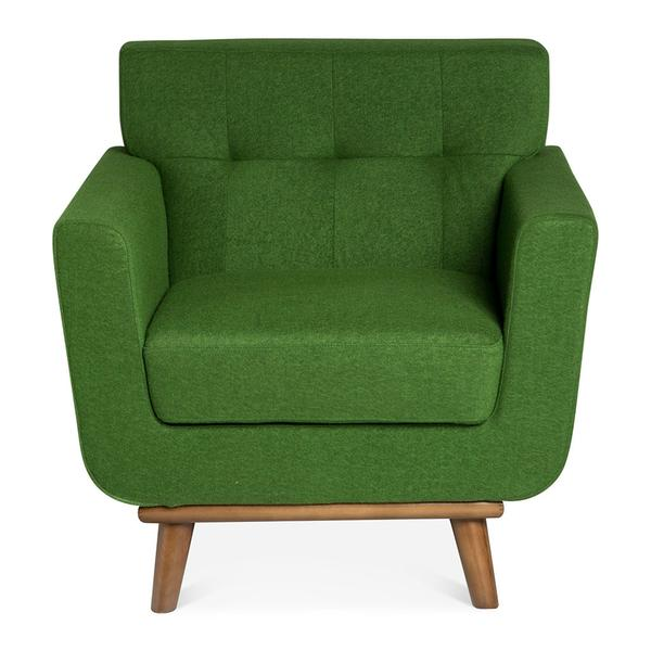 SVEN ARMCHAIR - EVERGREEN by The Design Edit, a Chairs for sale on Style Sourcebook
