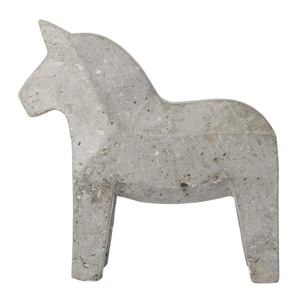 CONCRETE DALA HORSE - NATURAL GREY by Zakkia, a Statues & Ornaments for sale on Style Sourcebook