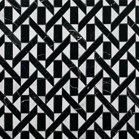 Labyrinth Oblique 305x305 by Labyrinth by Steve Cordony, a Mosaic Tiles for sale on Style Sourcebook