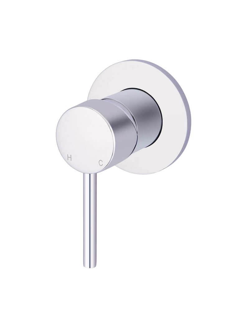 Round Chrome Wall Mixer by Meir, a Bathroom Taps & Mixers for sale on Style Sourcebook