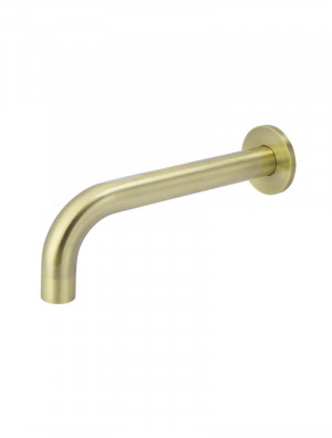 Round Curved Tiger Bronze Wall Spout by Meir, a Bathroom Taps & Mixers for sale on Style Sourcebook
