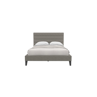 Eleanor Queen Slim Bed Frame Stone Grey Stone Grey by Brosa, a Beds & Bed Frames for sale on Style Sourcebook