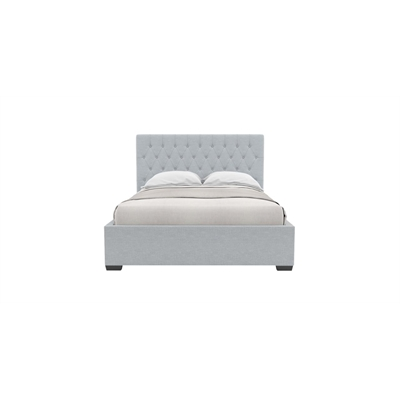 Emily Queen Gaslift Bed Frame Heron Grey Heron Grey by Brosa, a Beds & Bed Frames for sale on Style Sourcebook