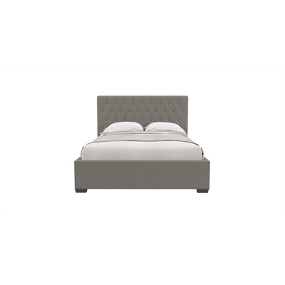 Emily Queen Gaslift Bed Frame Stone Grey Stone Grey by Brosa, a Beds & Bed Frames for sale on Style Sourcebook