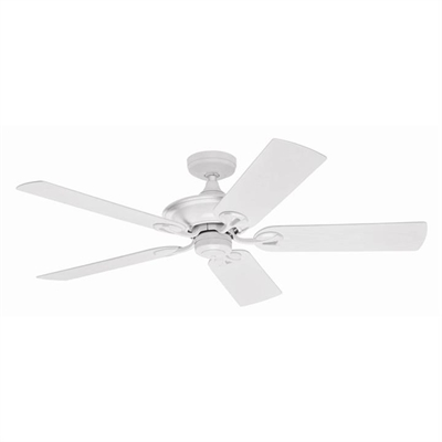 Hunter Maribel White Outdoor Ceiling Fan with White Blades by Hunter, a Ceiling Fans for sale on Style Sourcebook