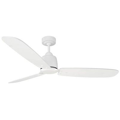 """Rio Timber DC Ceiling Fan, 130cm/52"""", White by Mercator, a Ceiling Fans for sale on Style Sourcebook"""