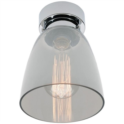 Robbie DIY Batten Fix Ceiling Light, Smoke / Chrome by Mercator, a Fixed Lights for sale on Style Sourcebook