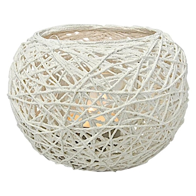Paper Thread Tea Light Candle Holder by Mes Homewares, a Candle Holders for sale on Style Sourcebook