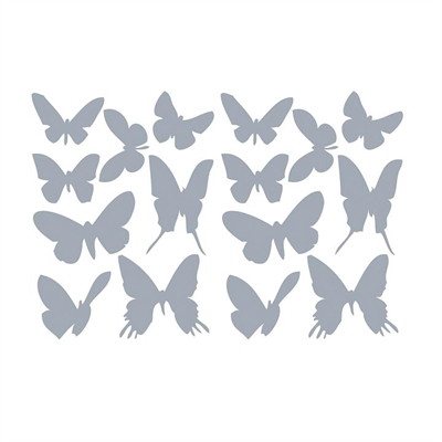 Butterflies Wall Decal by Vinyl Design, a Kids Prints & Wall Decor for sale on Style Sourcebook