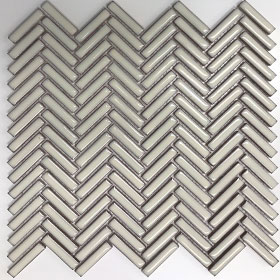 Kit Kat Bianca Herringbone by null, a Mosaic Tiles for sale on Style Sourcebook