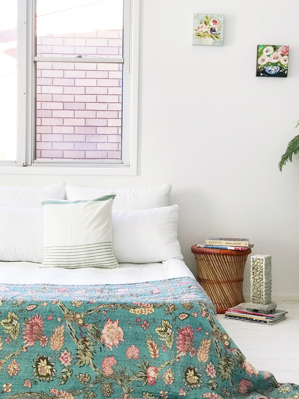 Le Jardin Kantha Quilt -preorders open by Peacocks and Paisley, a Quilt Covers for sale on Style Sourcebook