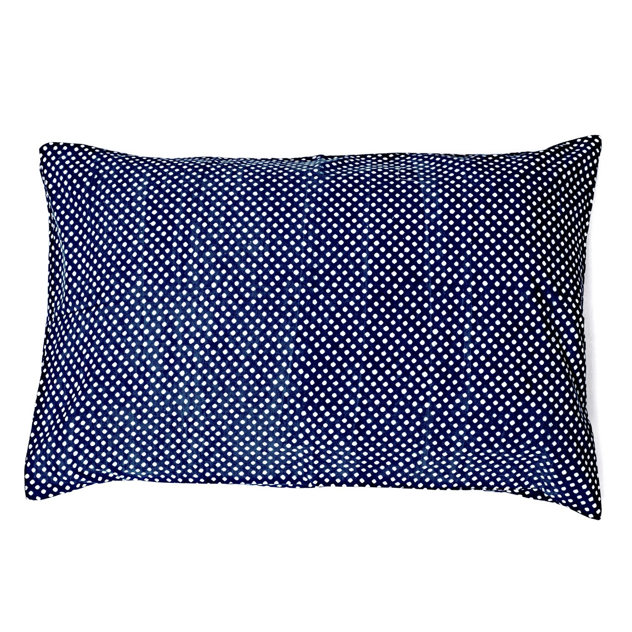 Indigo Dotty Hamptons Pillowcase by Peacocks and Paisley, a Pillow Cases for sale on Style Sourcebook