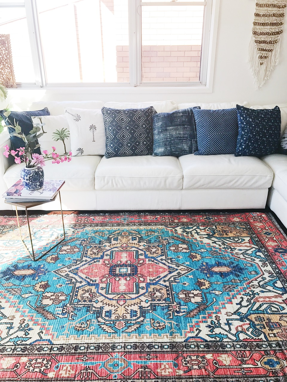 Boheme Upcycled Rug by Peacocks and Paisley, a Contemporary Rugs for sale on Style Sourcebook
