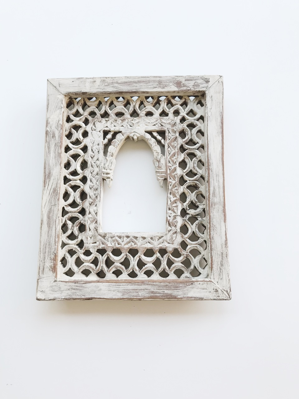 Boho Scandi Carved Frame by Peacocks and Paisley, a null for sale on Style Sourcebook