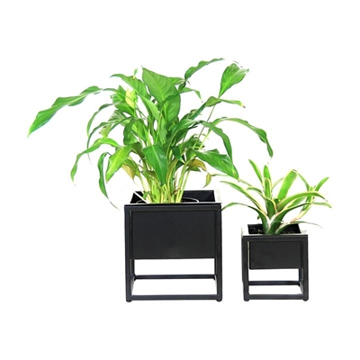 Iron Planter (Set of 2) by Satara, a Plant Holders for sale on Style Sourcebook