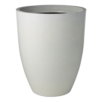Glazelite Squat Round Planter, Large, White by Rogue, a Plant Holders for sale on Style Sourcebook