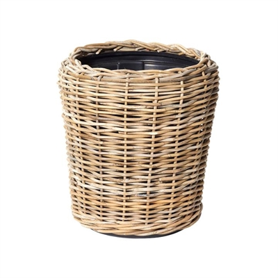 Morgan Rattan Pot Planter, Medium by Rogue, a Plant Holders for sale on Style Sourcebook