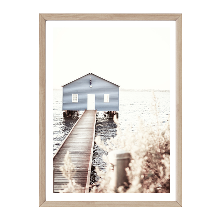 Blue Fishing House by Boho Art & Styling, a Prints for sale on Style Sourcebook