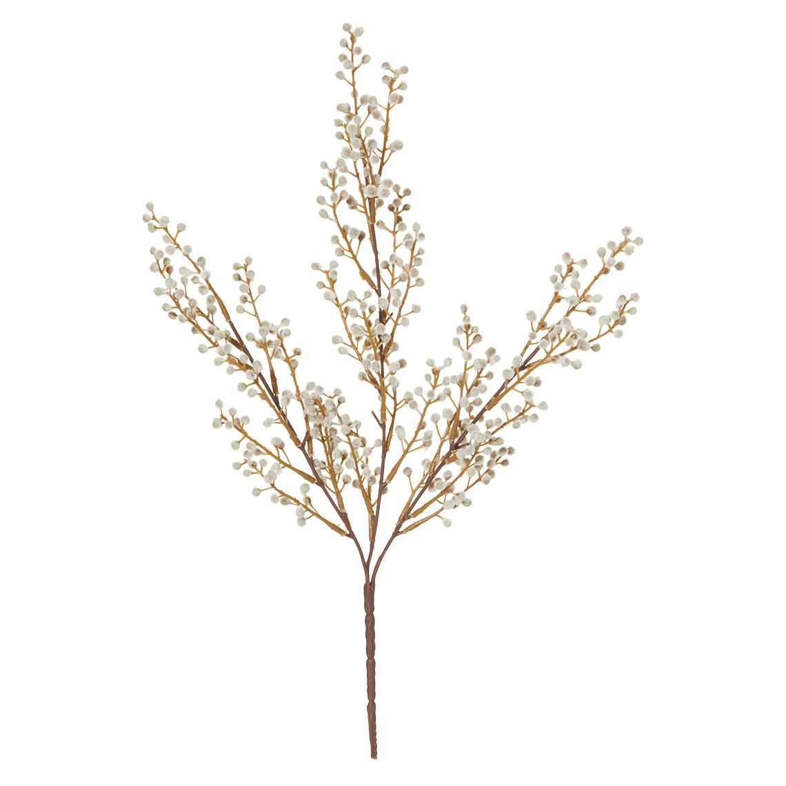 Mini Willow Bush Size W 25cm x D 10cm x H 48cm in Natural Plastic/Fabric/Wire Freedom by Freedom, a Plants for sale on Style Sourcebook