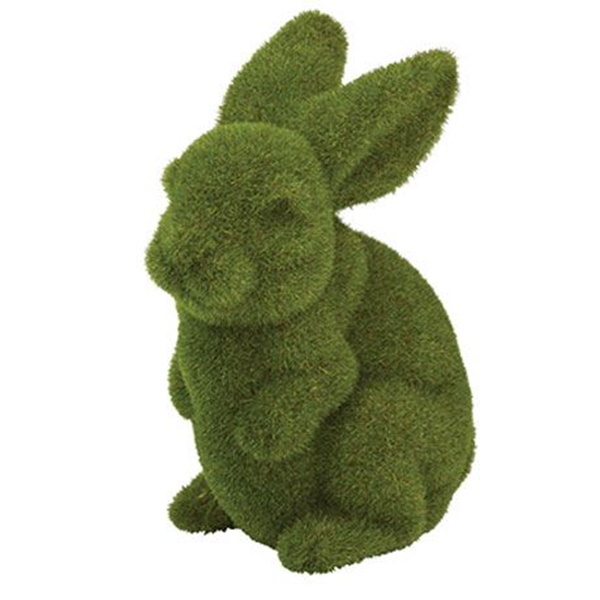 Moss 23 Cm Bunny Size W 17cm x D 12cm x H 23cm in Green Foam/Plastic Freedom by Freedom, a Plants for sale on Style Sourcebook