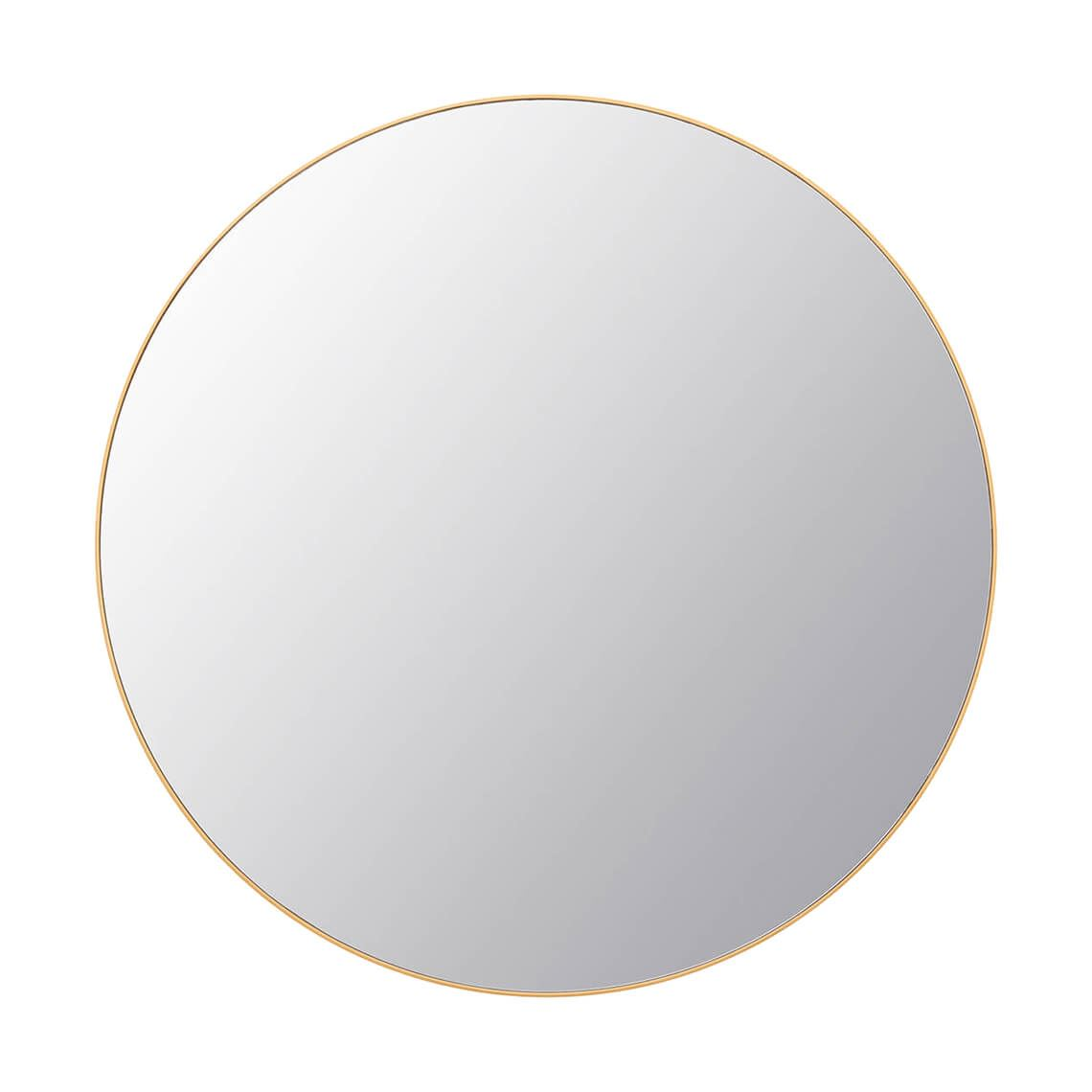 Dylan Mirror Colour Size W 90cm x D 2cm x H 90cm in Gold Wood/Mirrored Glass Freedom by Freedom, a Mirrors for sale on Style Sourcebook